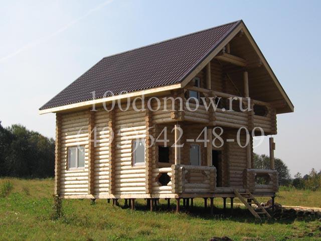 Проекты - Дачный дом и баня Строительство дома с баней