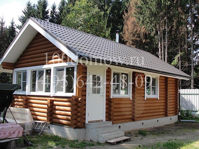 деревянные бани под ключ в московском облсте